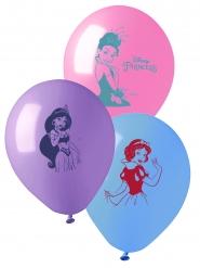10 Globos de látex princesas Disney™ 28 cm