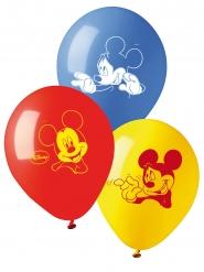10 Globos de látex Mickey™ 28 cm