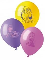10 Globos látex Princesa Sofia™ 28 cm