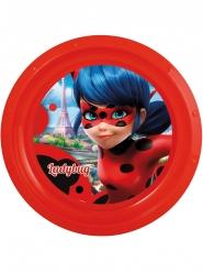Plato plano de plástico Ladybug™ 21 cm