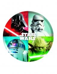 Plato de plástico melanina Star Wars™ 21 cm