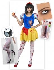 Pack disfraz princesa envenenada Halloween