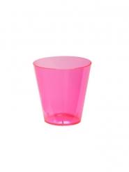 60 Vasos chupito de plástico rosa neón 59 ml