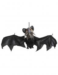 Decoración luminosa animada y sonora murciélago 45 x 80 cm