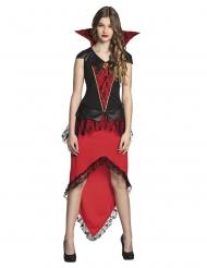 Disfraz condesa vampiresa adolescente