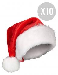 Pack 10 gorros navideños adulto