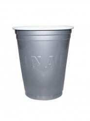 20 Vasos americanos Original Cup plateado 53 cl