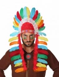 Cofia jefe indio adulto