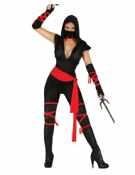 Disfraz ninja sexy mono mujer