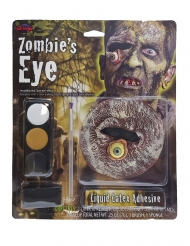 Maquillaje ojo de zombie adulto