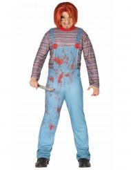 Disfraz muñeco diabólico adulto