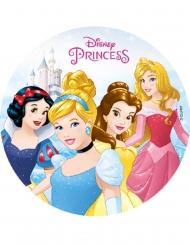 Disco oblea almidón Princesas Disney™ 18.5 cm
