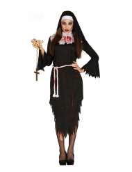 Disfraz monja demoniaca adulto
