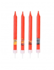 4 velas de cumpleaños Cars™ 9 cms