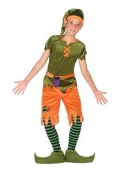 Disfraz duende del bosque niño
