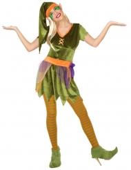 Disfraz elfo de los bosques mujer