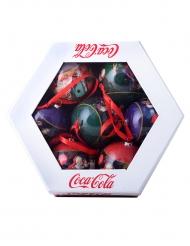 7 Bolas de Navidad Coca-Cola™ 7.5 cm