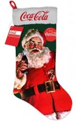 Bota navideña luminosa gigante Coca-Cola™