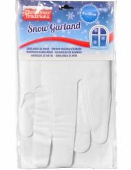 2 Guirlandas nieve estalactitas 33 x 120 cm