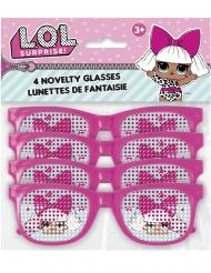 4 Gafas rosas con lunares Lol Surprise™