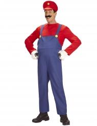 Disfraz super fontanero hombre