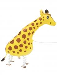 Globo metálico jirafa peregrina 86,3 cm