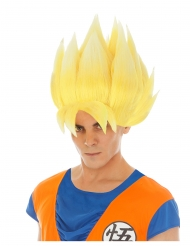 Peluca Goku amarilla Dragon Ball Z™ adulto