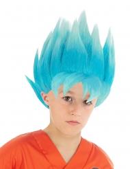 Peluca azul Goku Saiyajin Super Dragon Ball Z™ niño