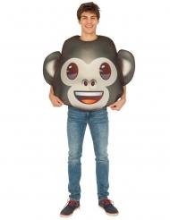 Disfraz Emoji™ mono adulto
