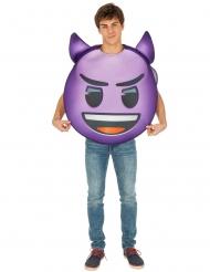 Disfraz Emoji™ diablo adulto
