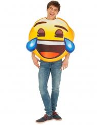 Disfraz Emoji™ risa con lágrimas