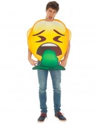 Disfraz Emoji™ vómito adulto
