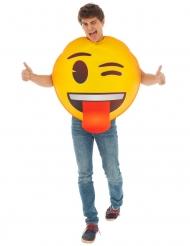 Disfraz Emoji™ guiño de ojo