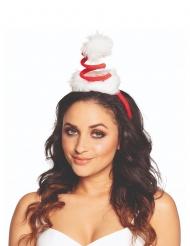 Mini sombrero gorro en espiral adulto