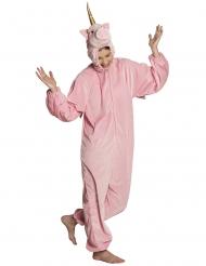 Disfraz unicornio rosa adolescente