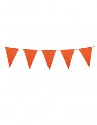 Guirnalda mini banderines naranja 3 m