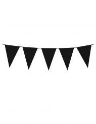 Guirlanda con mini banderillas negras 3 m