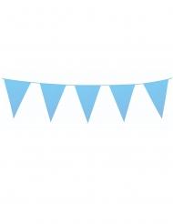 Guirlanda mini banderines azules 3 m