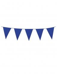 Guirnalda mini banderines azul oscuro 3 m
