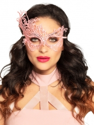 Antifaz encaje rosa sexy mujer