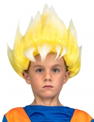 Peluca Super Saiyajin Goku Dragon Ball™ niño