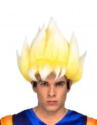 Peluca Super Saiyajin Goku Dragon Ball™ adulto
