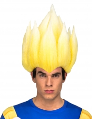 Peluca Super Saiyajin Vegeta Dragon Ball™ adulto