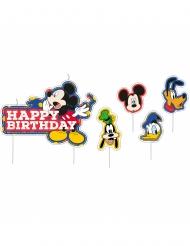 17 Velas de cumpleaños Mickey Mouse™