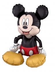 Globo aluminio Mickey Mouse™ sentado 45x45 cm