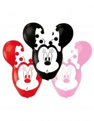 4 Globos de látex Minnie™ orejas gigantes 55.8 cm