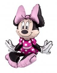 Globo aluminio Minnie Mouse™ sentada 38 x 45 cm