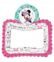 Globo aluminio marco Minnie Mouse™
