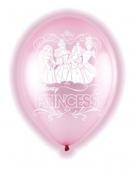 5 Globos látex LED Princesas Disney™ 28 cm