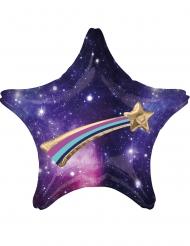 Globo de aluminio estrella galáctica 71 x 71 cm